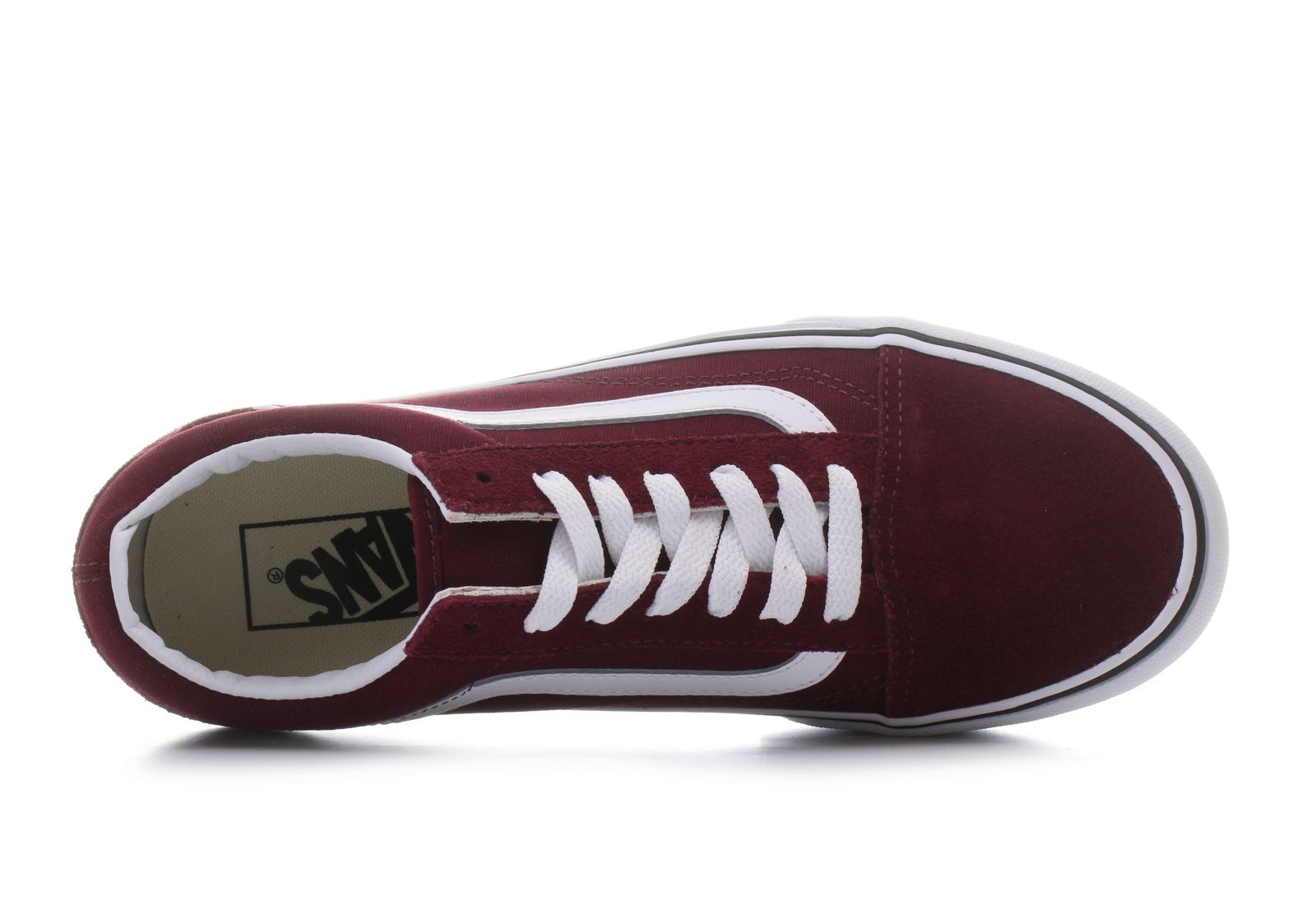vans old school bordowe