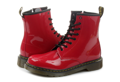 Dr Martens Bakancs Delaney - Youth Lace Boot