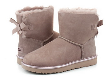 e9f706fb5c5 Ugg Boots - Mini Bailey Bow Ii Metallic - 1019032-DUS - Online shop for  sneakers, shoes and boots