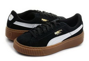 Puma Shoes Suede Platform Snake Jr 36390602 blk Online shop for sneakers, shoes and boots