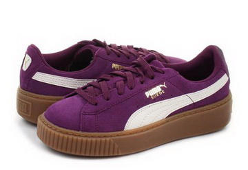 Puma Shoes Suede Platform Snake Jr 36390603 pur Online shop for sneakers, shoes and boots