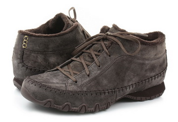 Skechers Shoes Bikers Totem Pole 49013 choc Online shop for sneakers, shoes and boots