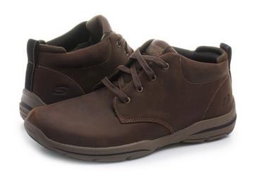 Skechers Półbuty Harper Melden 64857 choc Obuwie i buty damskie, męskie, dziecięce w Office Shoes