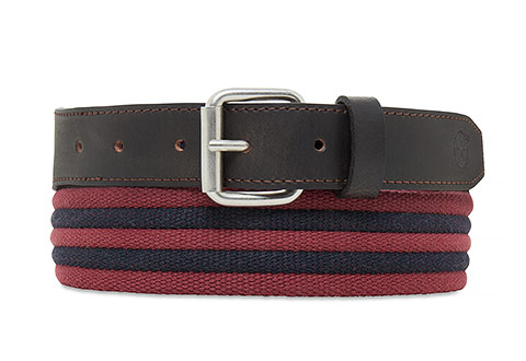 Timberland Kaiš Canvas Striped Belt