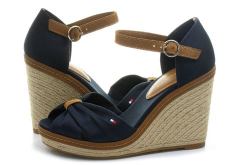 e87a727f2e Tommy Hilfiger Casual Plava Sandale - Elena - Office Shoes Srbija
