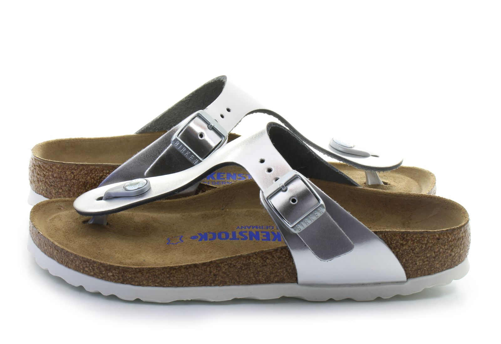 Birkenstock Slippers - Gizeh Sfb - 1003675-slv - Online shop for sneakers, shoes and boots