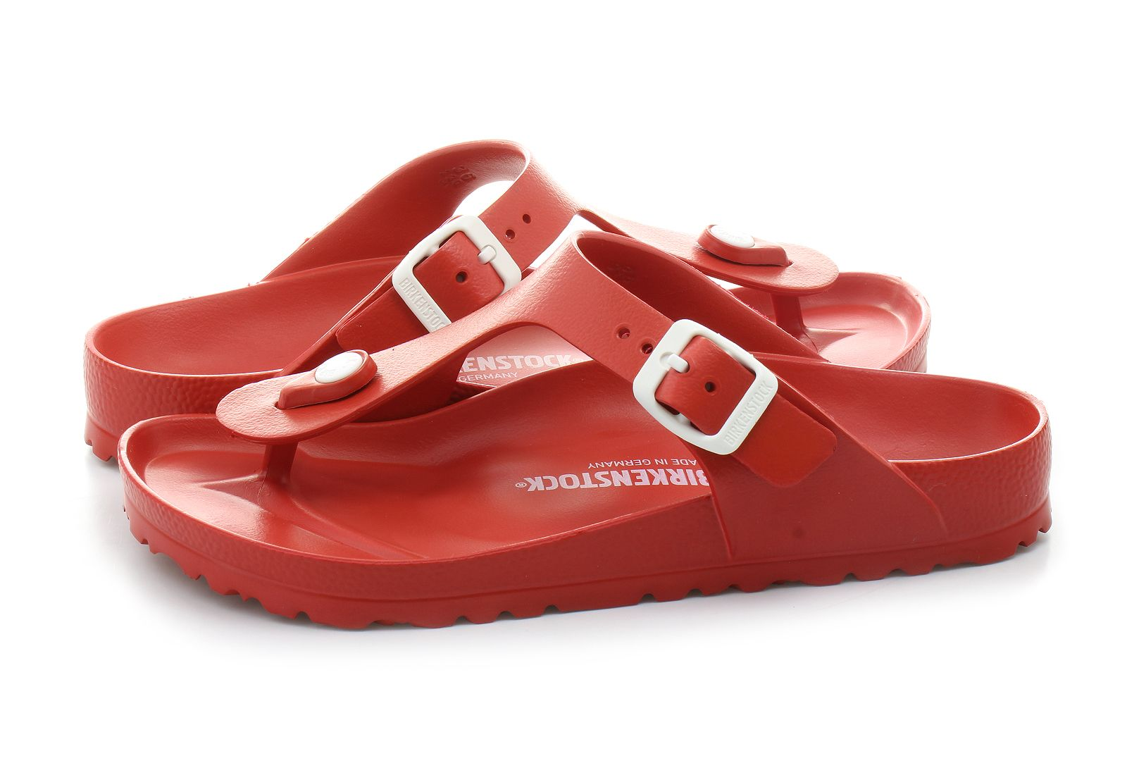 c4e664947e04 Birkenstock Slippers - Gizeh Eva - 128231-red - Online shop for ...