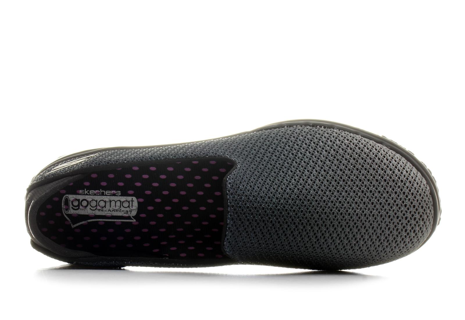 Skechers Slip-on - Lotus - 14014-bkgy - Online shop for sneakers ... 5d0065bec2