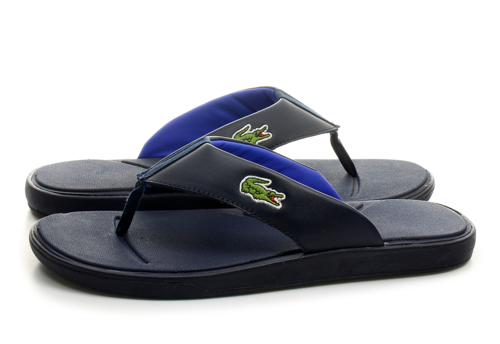 Lacoste Shoes Black And Green