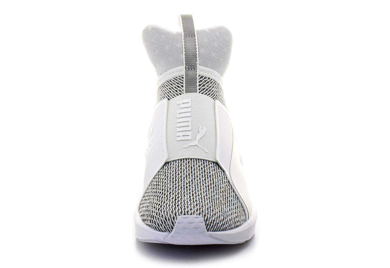 Puma Nízké boty - Fierce Knit - 19030302-whtTenisky 832be8ad62