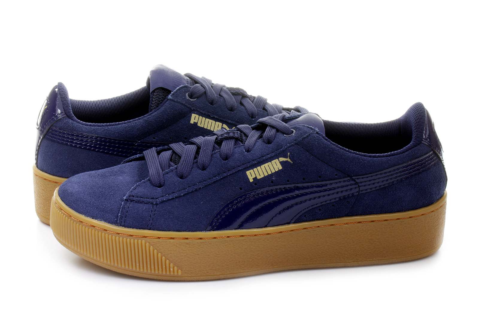Puma Cipő - Puma Vikky Platform - 36328702-nvy - Office Shoes ... b4d95eb242