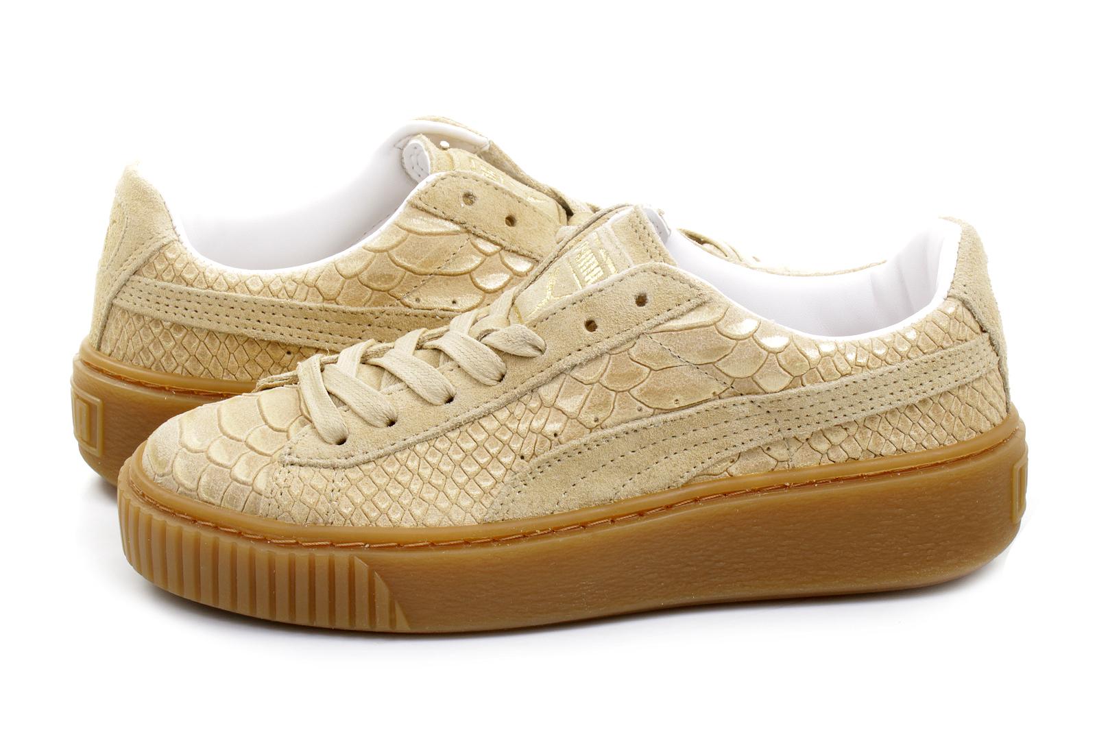 puma basket platform exotic