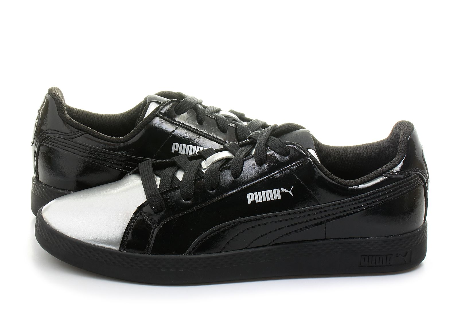 Puma Cipő - Puma Smash Wns Metallic - 36361102-blk - Office Shoes ... 109690d3b2