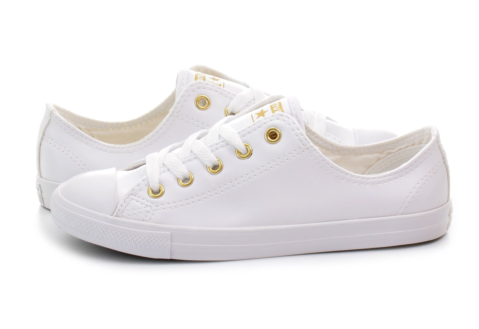 Converse Tornacipő - Chuck Taylor All Star Dainty Leather - 555837C ... c13490b911