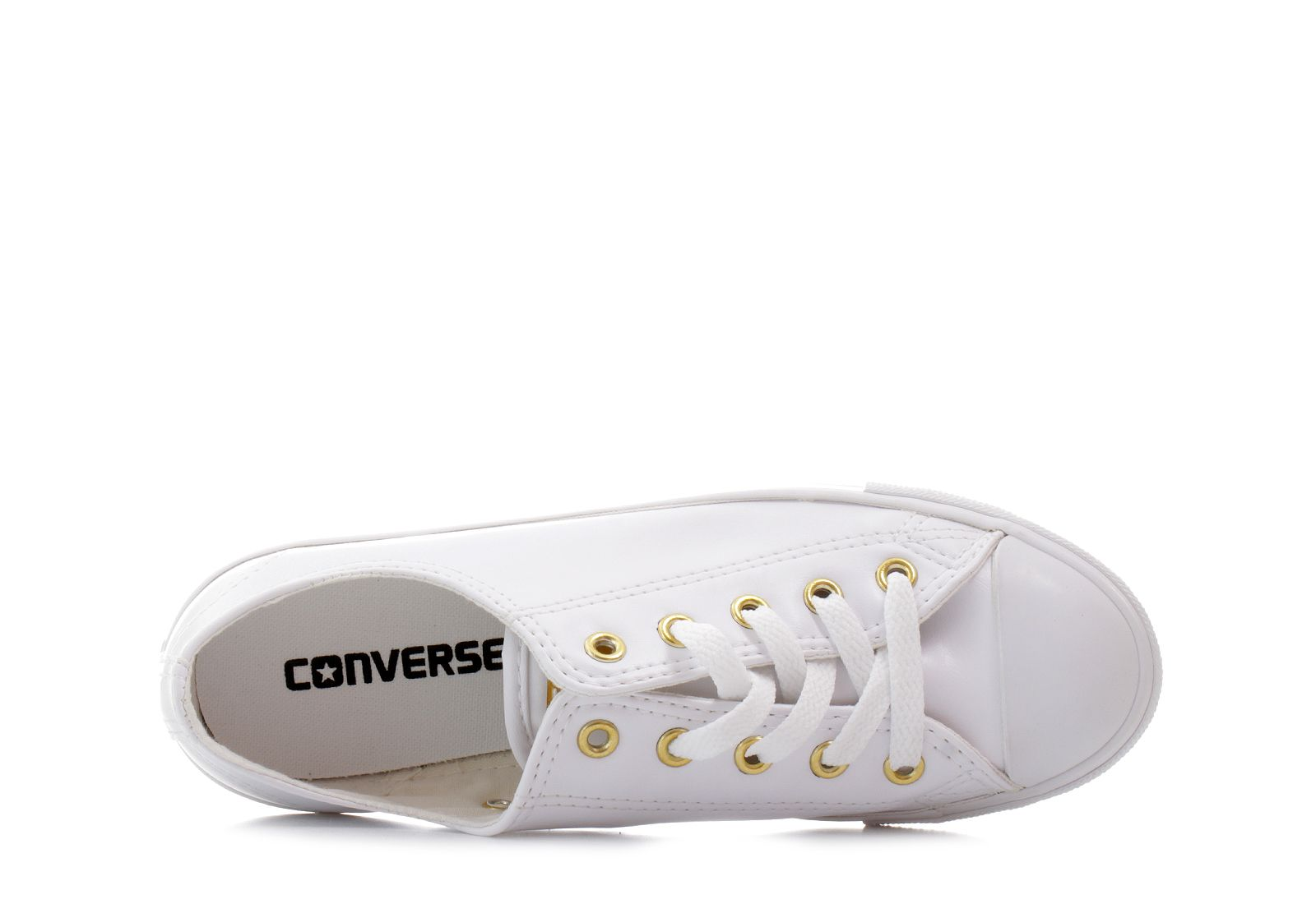 6f4d189c49 Converse Tenisky - Chuck Taylor All Star Dainty Leather - 555837C ...
