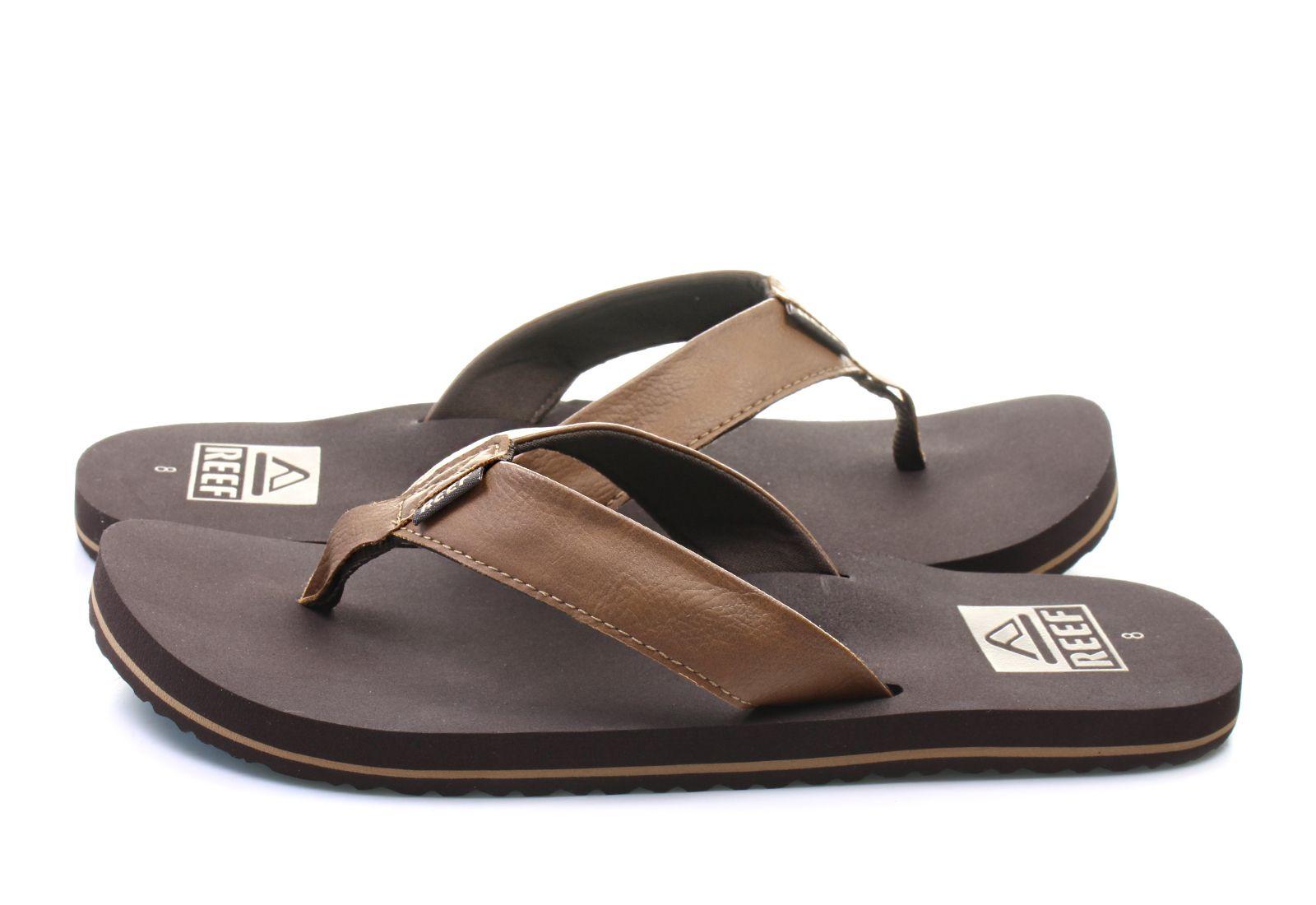 reef slippers - reef twinpin - r2915bro - online shop for sneakers