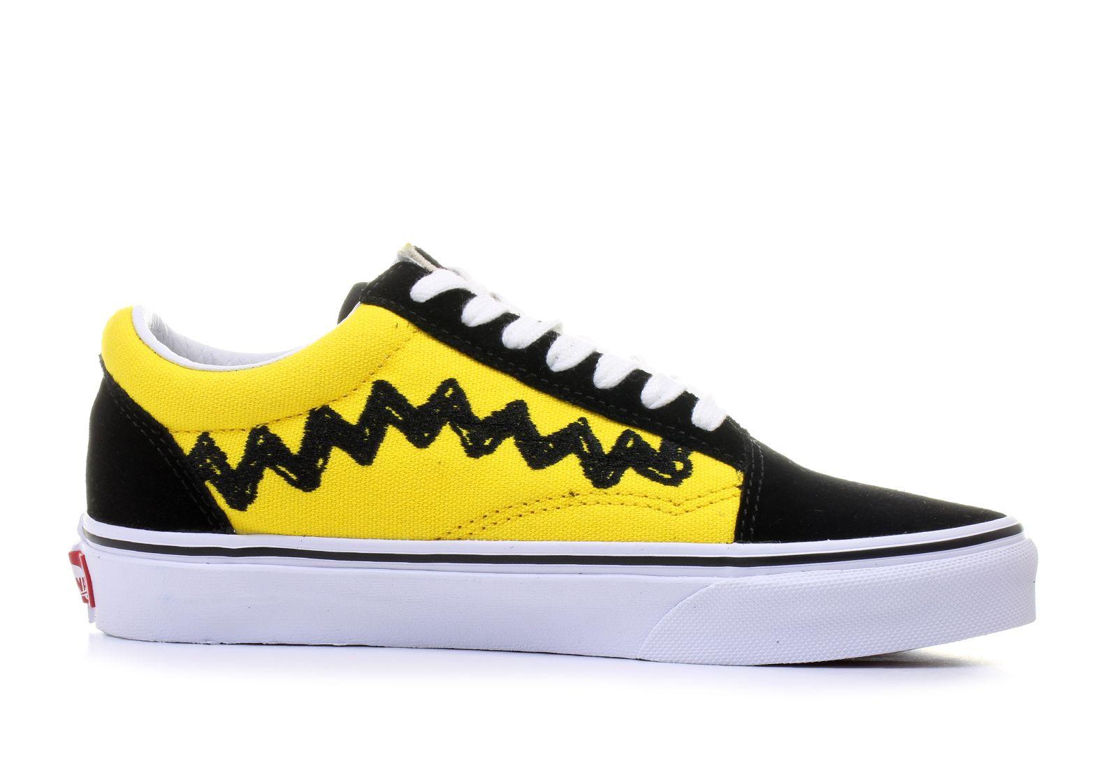 vans old skool damskie żółte