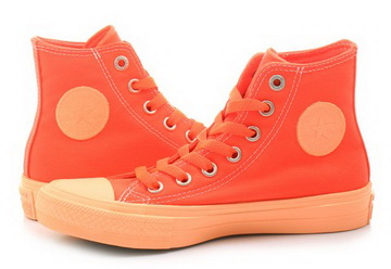 Converse Chuck Taylor All Star II Hi in orange 155724C | everysize