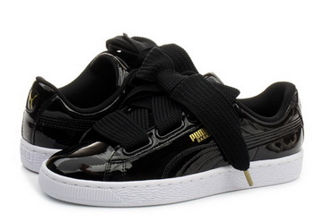premium selection 70c67 1afed Puma Shoes - Basket Heart Patent Wns - 36307301-blk - Online shop for  sneakers, shoes and boots