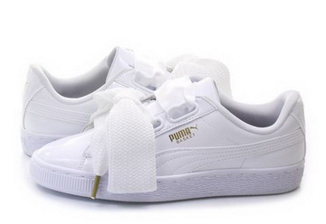 672c29a1fe26 Puma Cipő - Basket Heart Patent Wns - 36307302-wht - Office Shoes ...