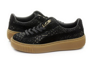 Puma Shoes Platform Exotic Skin 36337701 blk Online shop for sneakers, shoes and boots