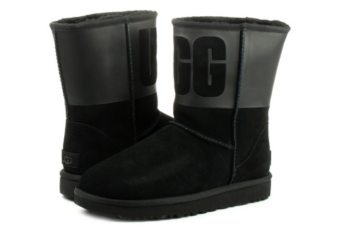 Ugg Boots Classic Short Ugg Rubber