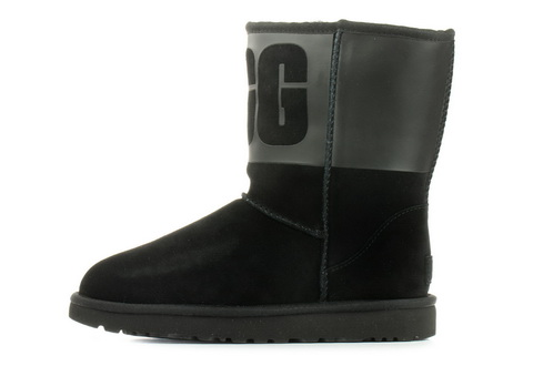 Ugg Wysokie Buty Classic Short Ugg Rubber