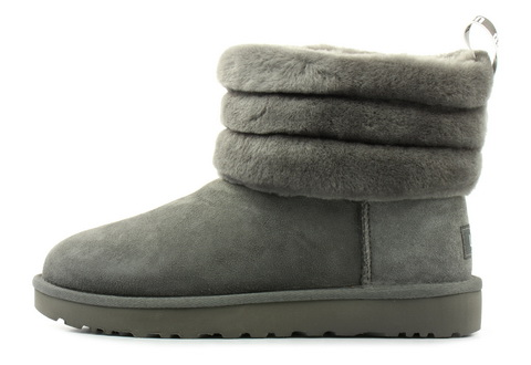 Ugg Vysoké Boty Fluff Mini Quilted