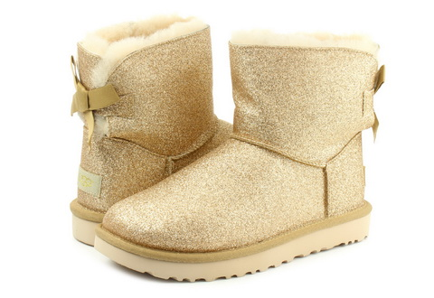 Ugg Csizma Mini Bailey Bow Sparkle