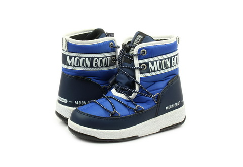 Moon Boot Wysokie Buty Moon Boot Jr Boy Mid Wp