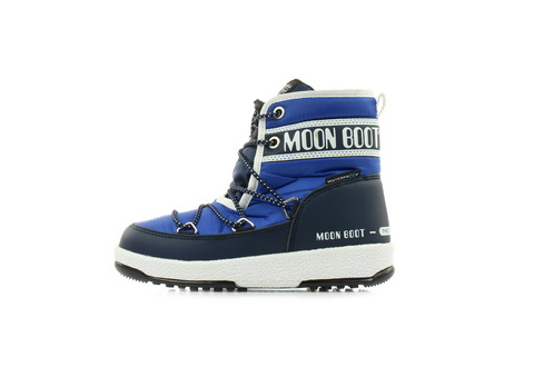 Moon Boot Vysoké Boty Moon Boot Jr Boy Mid Wp