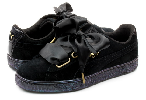 Puma Shoes Suede Heart Satin