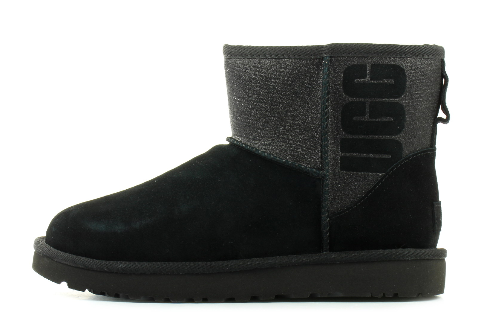 ugg boots classic mini ugg sparkle 1098452 blk online shop for rh officeshoescee com