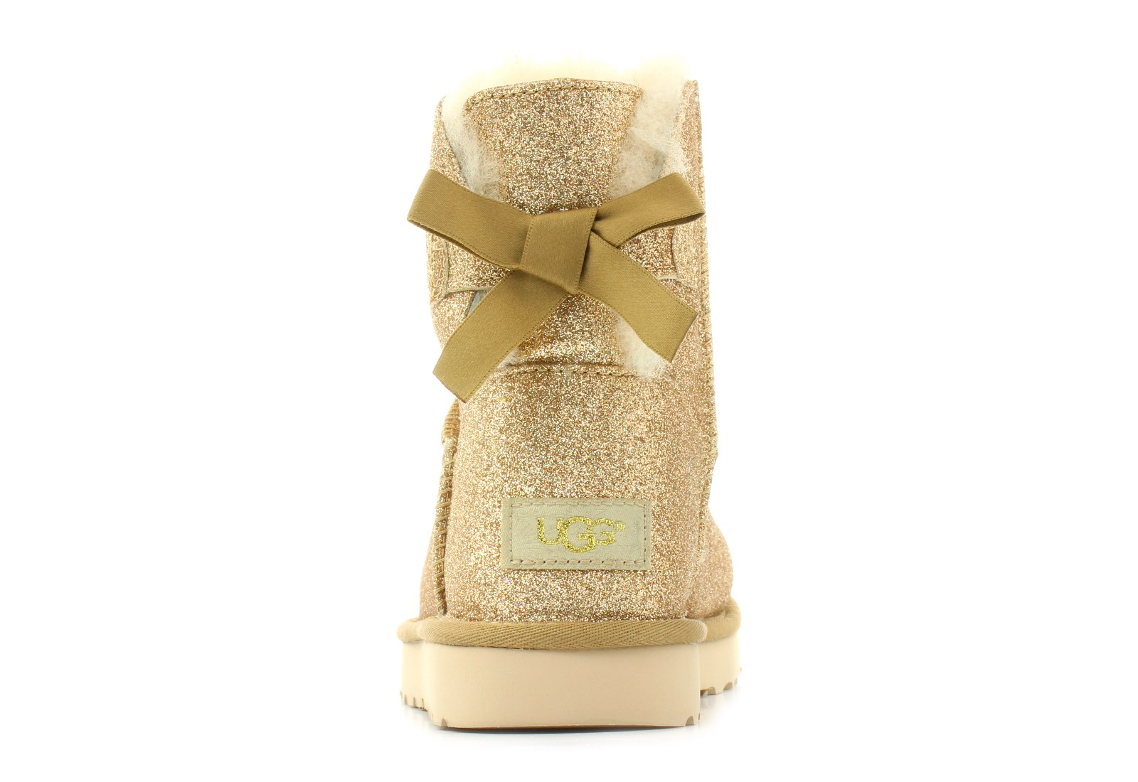 b7531c8fbf3 Ugg Boots - Mini Bailey Bow Sparkle - 1100053-gold - Online shop for  sneakers, shoes and boots