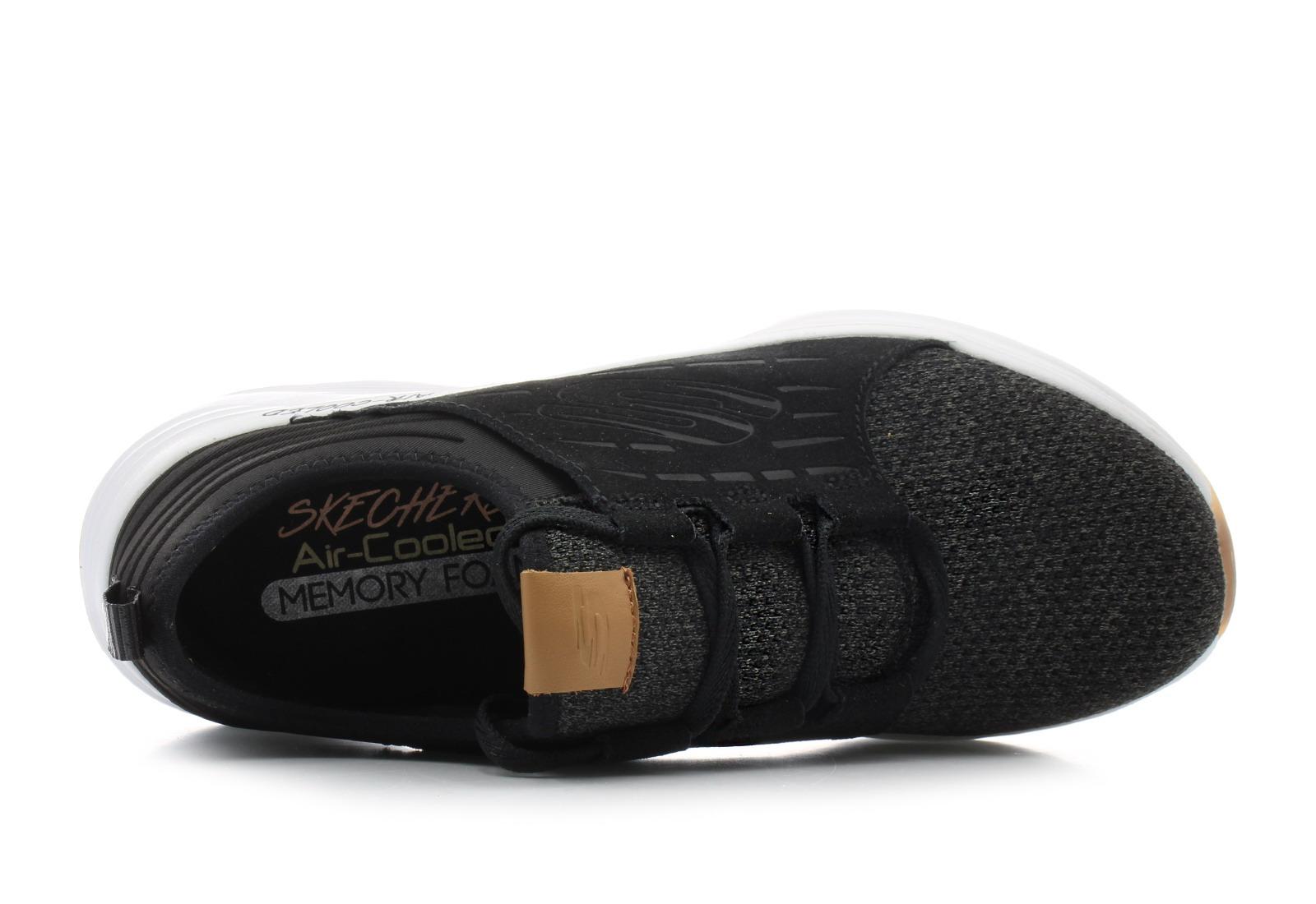 Cipő SKECHERS Skyline 13046BKW BlackWhite