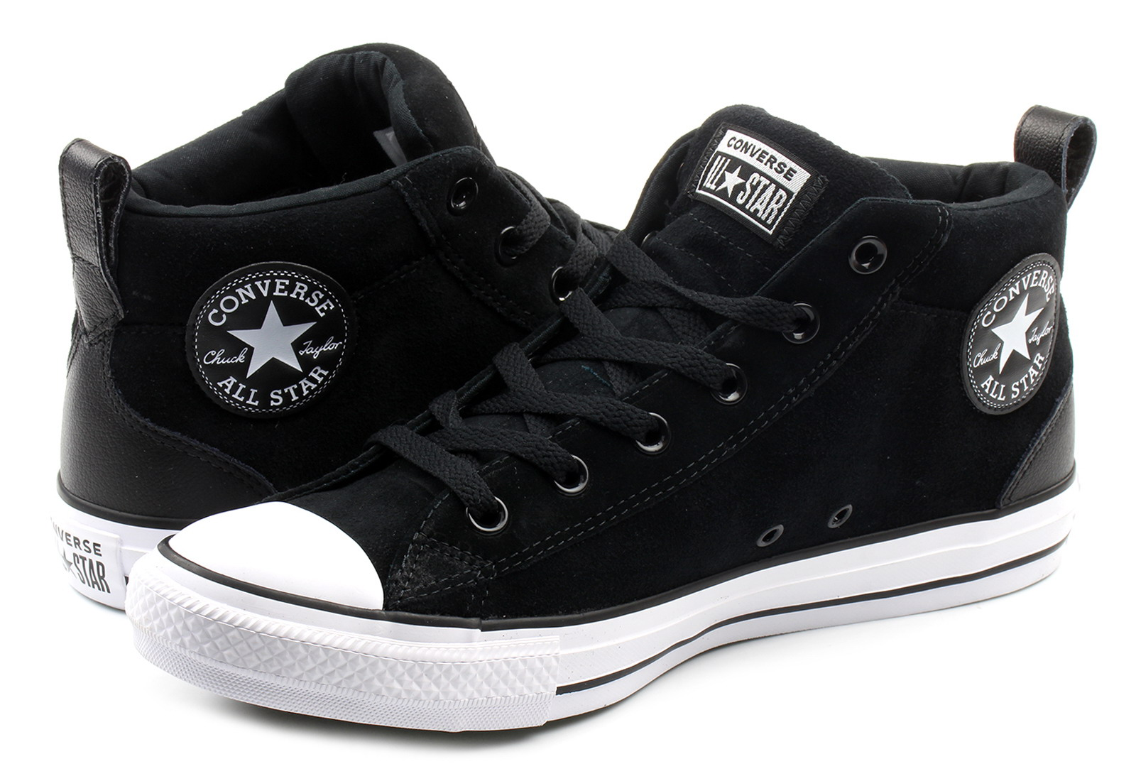 Converse Tenisky - Chuck Taylor All Star Street Mid - 161465C ... 43b006a6022