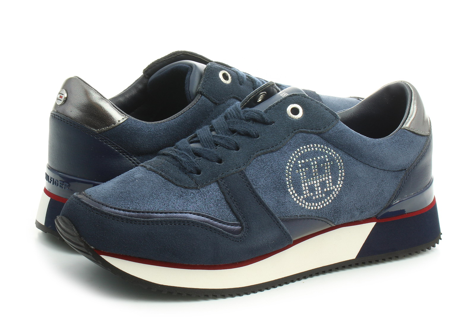 6751c0741c418 Tommy Hilfiger Niske Cipele Plave Cipele - Annie 2d - Office Shoes ...