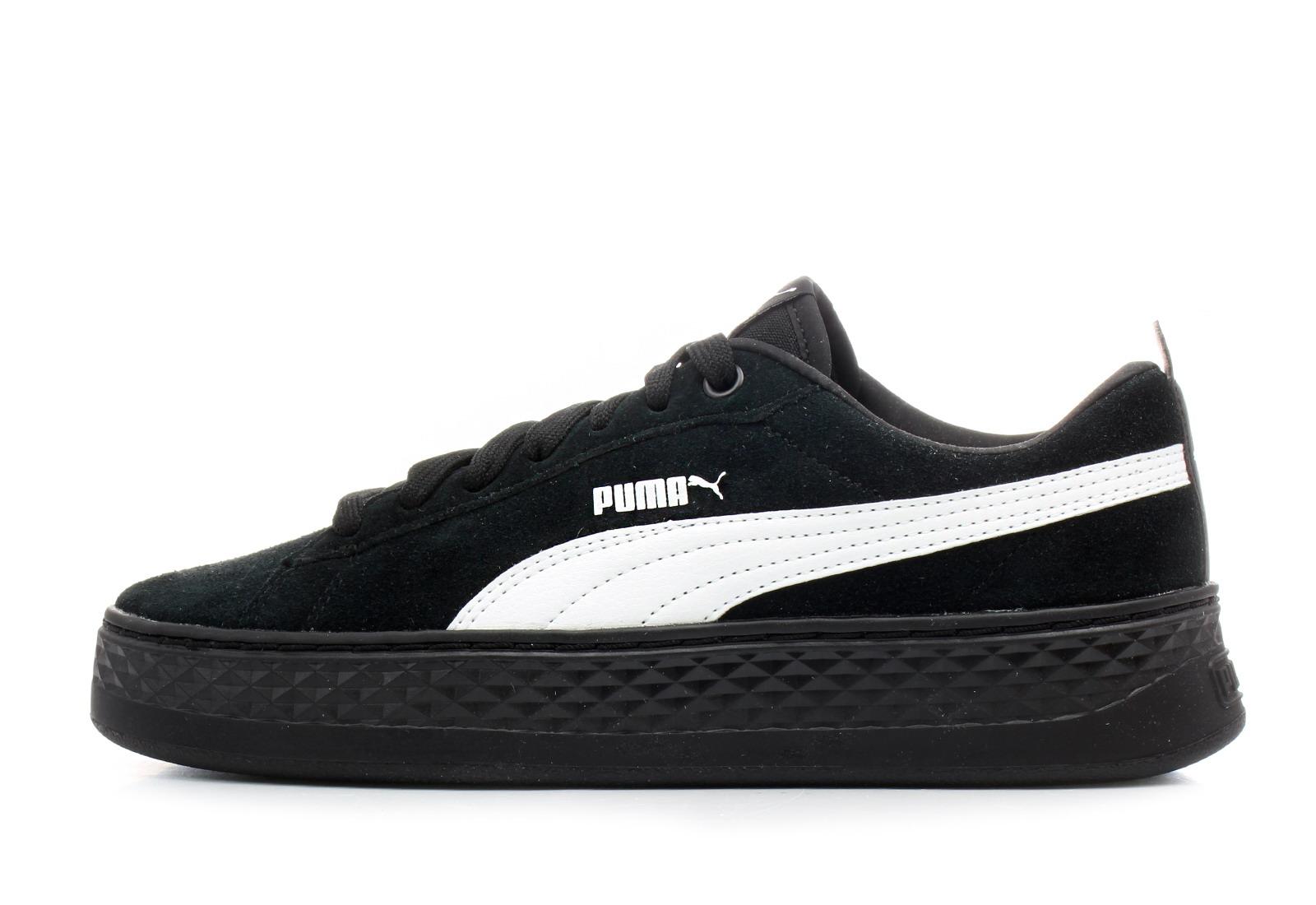 Puma Topánky - Smash Platform - 36648802-blk - Tenisky 6e26a647fe6