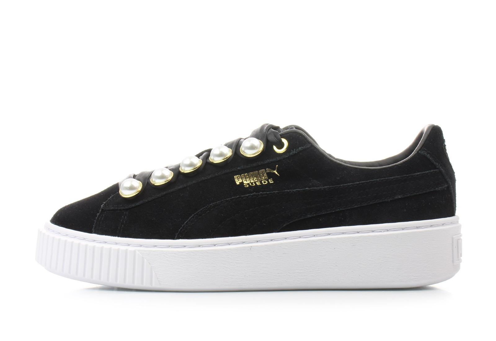 Puma Shoes - Suede Platform Bling Wns - 36668801-blk - Online shop ... d94e01a9b9a