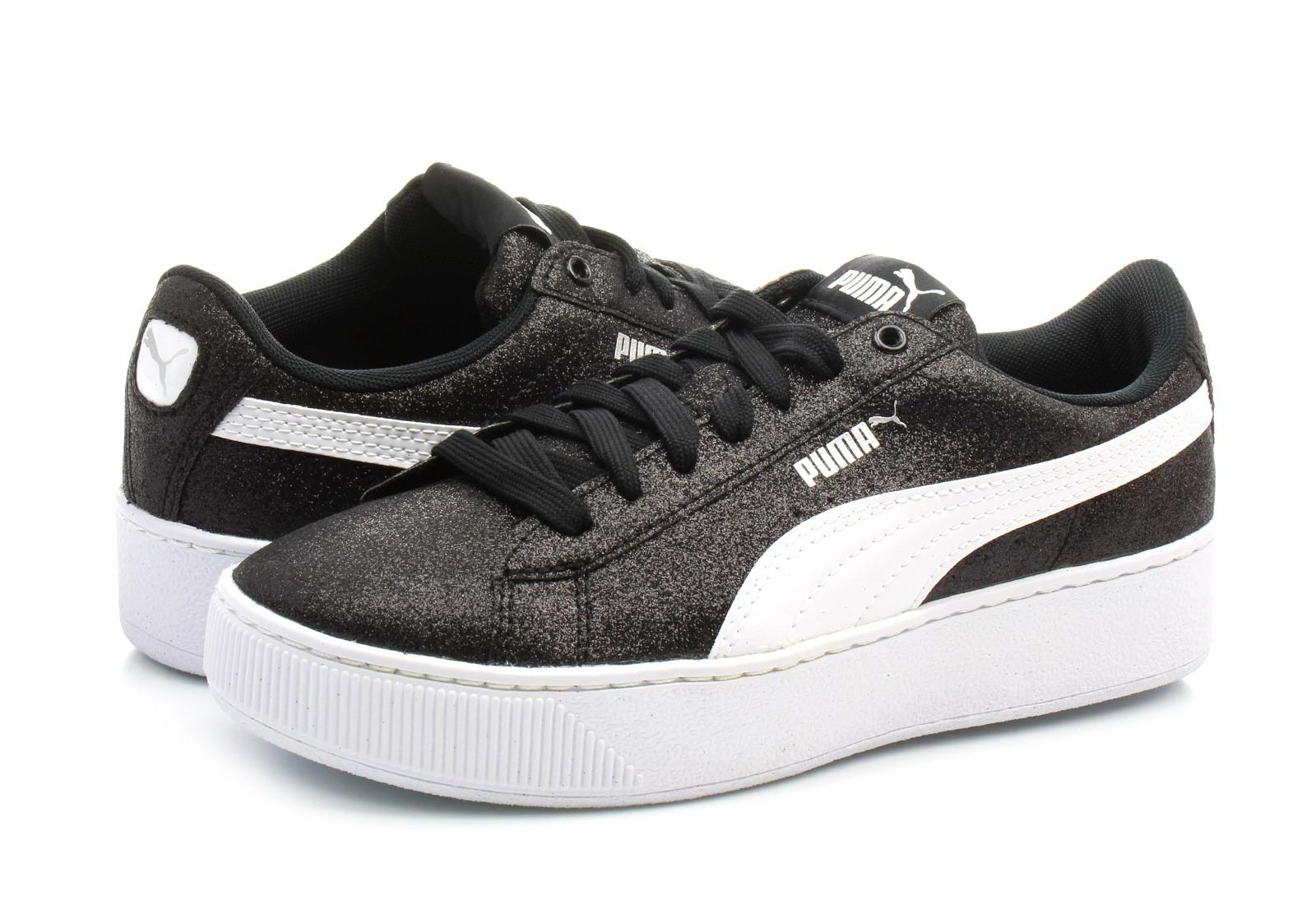 Jak nowe buty puma vikky platform soft foam 37 czarne promocja!