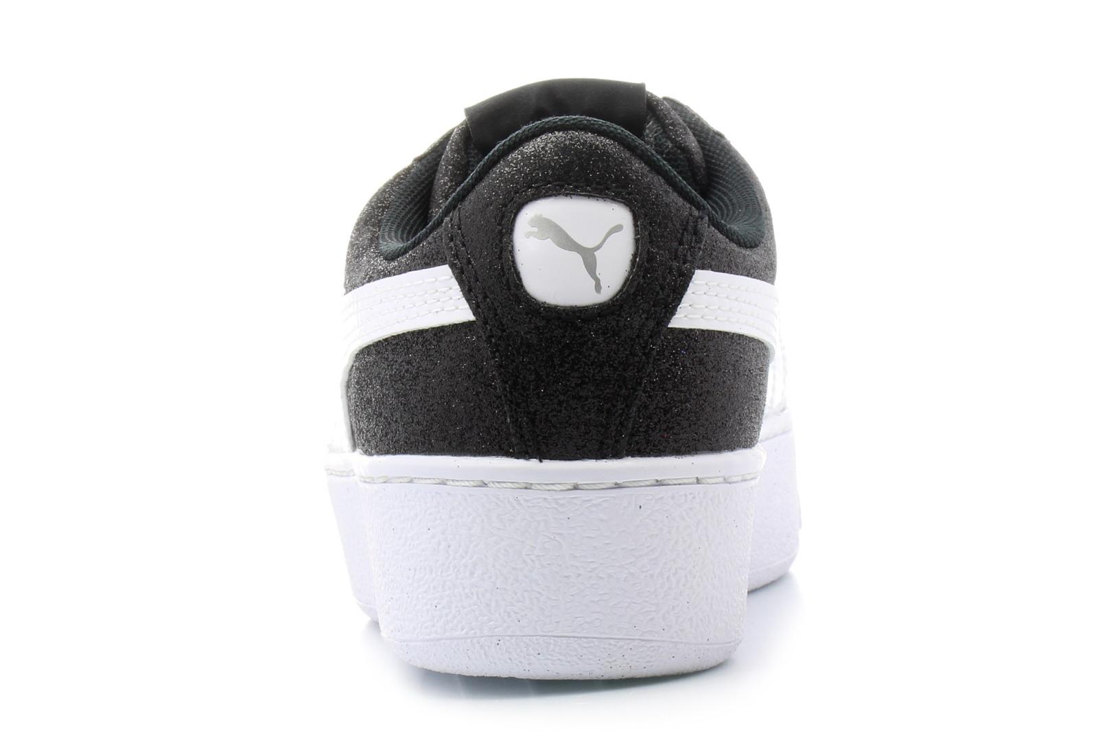 9f4e03899b2562 Puma Shoes - Puma Vikky Platform Glitz Jr - 36685602-blk - Online ...