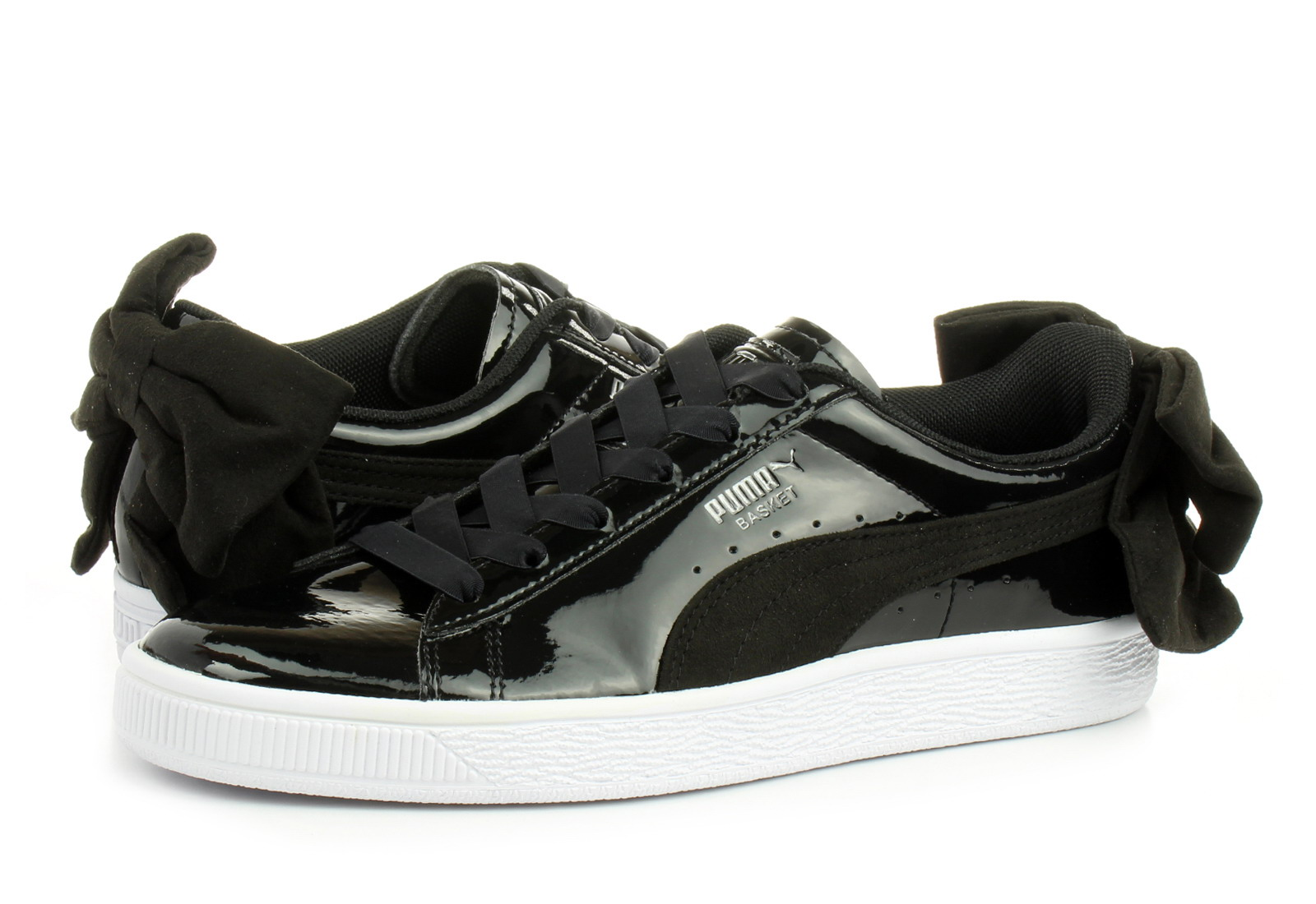6847877156c Puma Shoes - Basket Bow Sb Wns - 36735301-blk - Online shop for ...