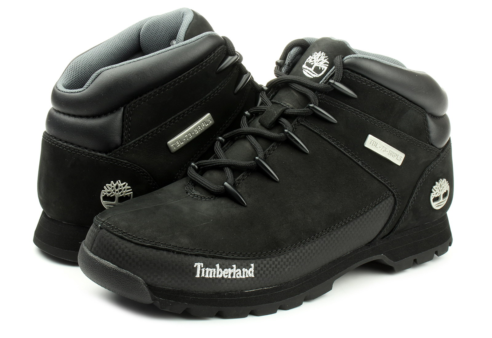 Timberland Topánky - Euro Sprint Hiker - 6361r-blk - Tenisky c0c1c19dc44