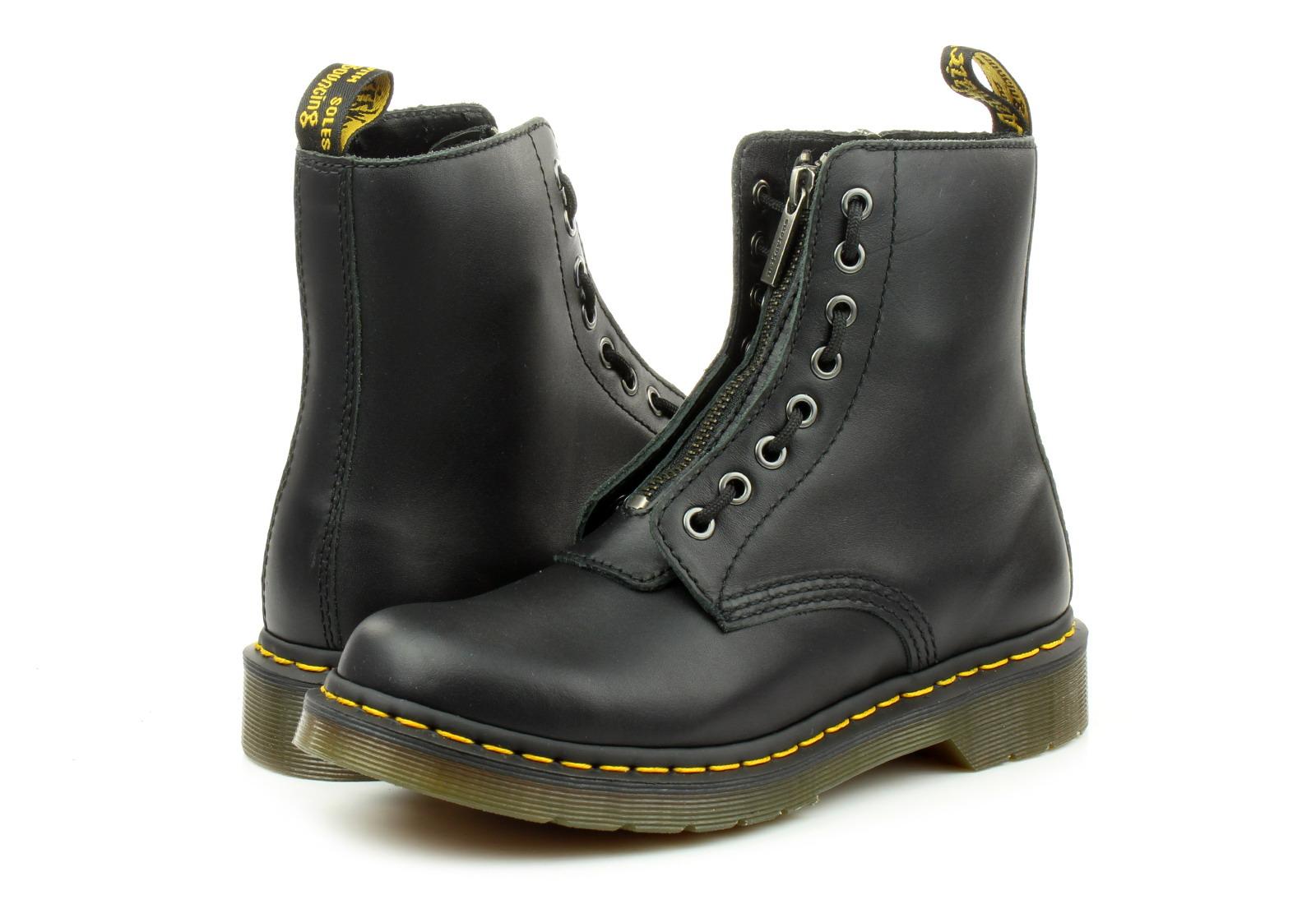 Dr Martens Boty - 1460 Pascal Frnt Zip - 8 Eye Zip Boot ... 102d2307ad