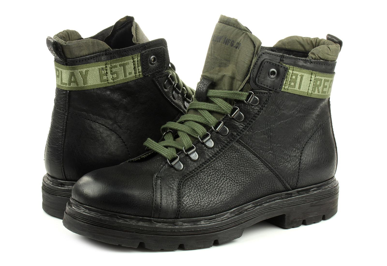 Replay Bakancs - Rc740002l - RC740002L-0003 - Office Shoes Magyarország baa0a4942c