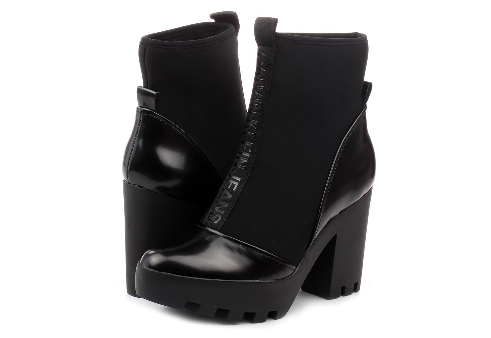 2534dea097 Calvin Klein Jeans Csizma - Stefania - RE9763-BLK - Office Shoes ...