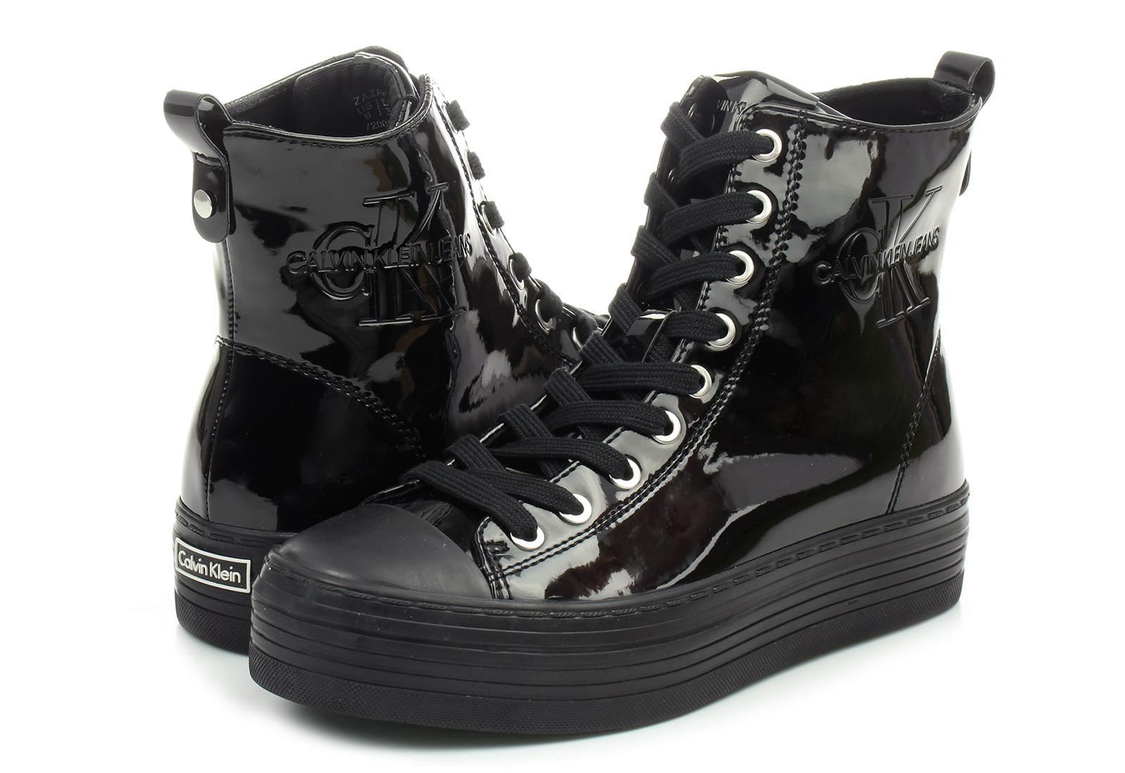 a47e324105 Calvin Klein Jeans Cipő - Zazah - RE9793-BLK - Office Shoes Magyarország
