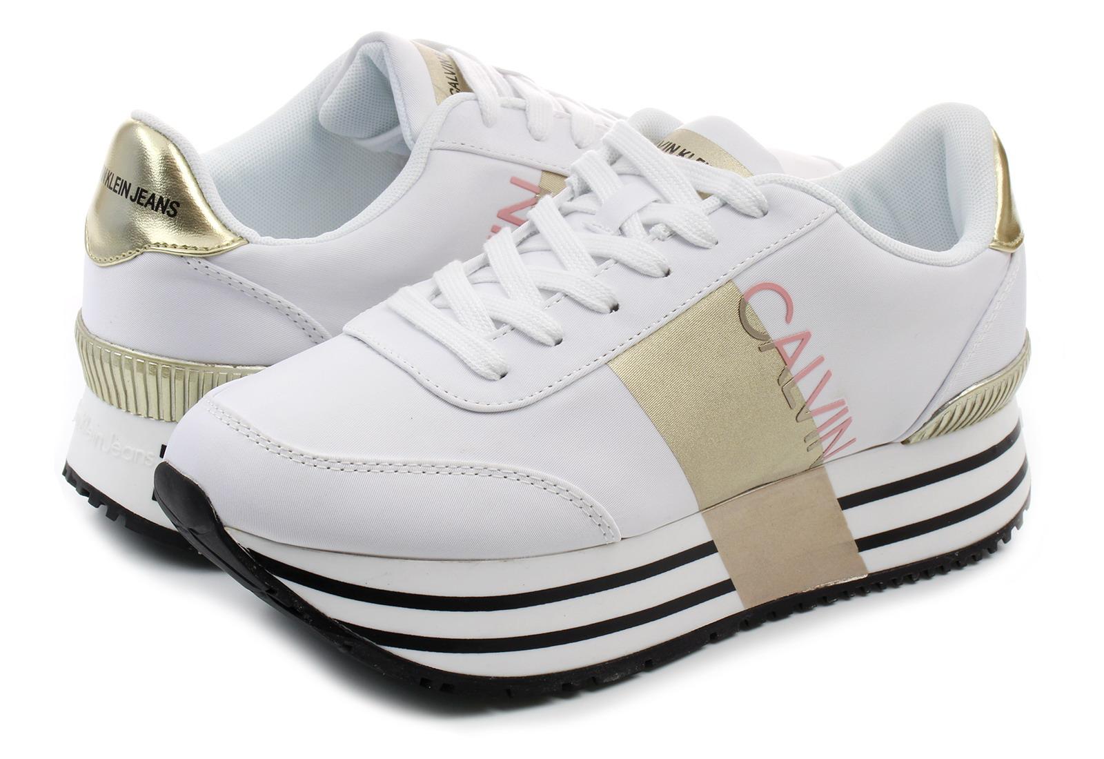 92547e6811 Calvin Klein Jeans Shoes - Coretta - RE9807-WHT - Online shop for ...