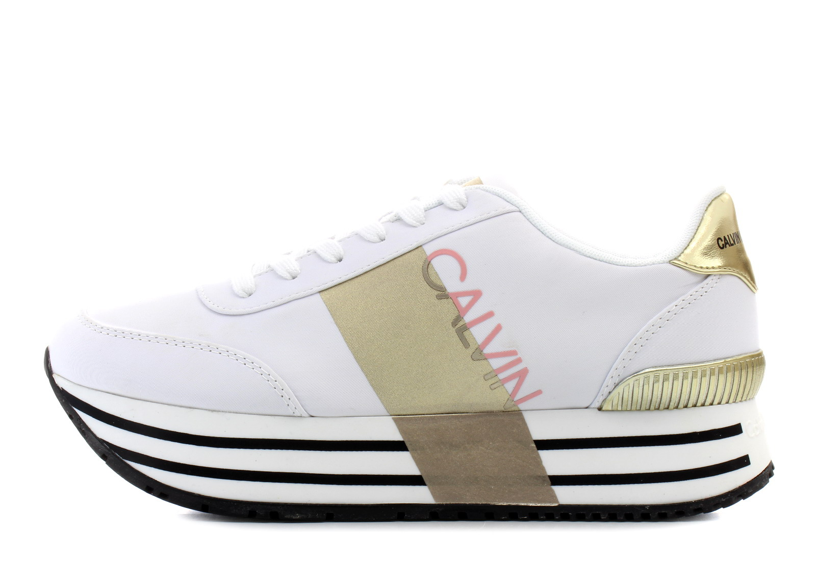 de9f131366 Calvin Klein Jeans Casual Bela Patike - Coretta - Office Shoes Srbija
