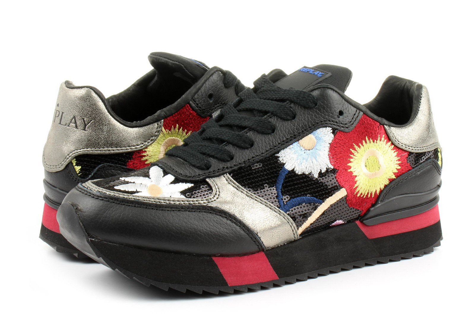 Replay Cipő - Rs630020s - RS630020S-0003 - Office Shoes Magyarország 6ec55f9815